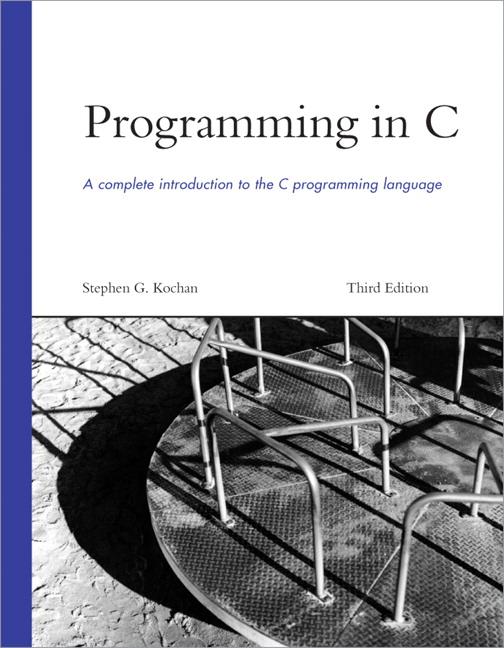 Programming In C. Programming in C